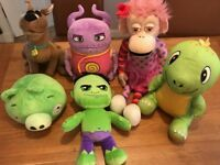 Collection of Cuddly Toys