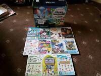 wiiu games console full kit and games