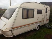 Elddis 4-5 berth caravan