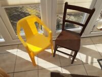 Two chairs for children