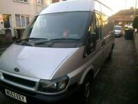 Ford transit van mwb semi high top mot towbar