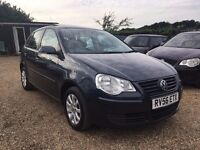 VOLKSWAGEN POLO 1.4 SE 5DR AUTO 2006 *IDEAL FIRST CAR* CHEAP INSURANCE*HPI CLEAR * FULL SERVICE HIST