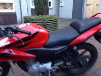 honda cbf 125 12 month mot no adviserys