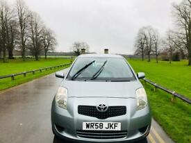 TOYOTA YARIS 2009 5DR 1.3L 12 MONTH MOT IDEAL FIRST CAR CHEAP TO INSURE