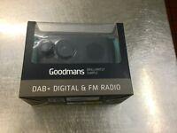 Brand new in box Goodmans Digital DAB FM Radio