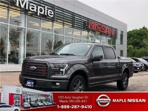 2017 Ford F-150 4x4-Supercrew XL-Leather Trim Seats,roof,Loaded!