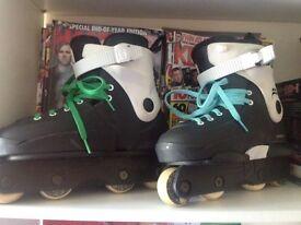 Razor Genesys Aggressive Inline Skates - Size 3,4,5,6