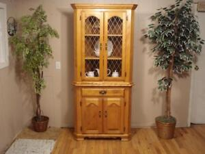 Lovely Corner Cabinet by Canadel