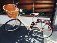 """BEAUTIFUL PASHLEY SONNET PURE BLISS BICYCLE BIKE - IVORY & CLARET RED 17.5"""""""