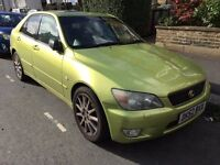 Lexus IS 200 2.0 SE 4dr + PART EXCHANGE CLERANCE +