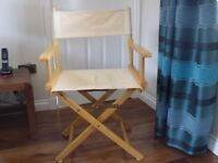 Artist Easel and Canvas Chair
