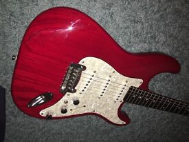 Rare G&L S-500 Tribute by Fender Stratocaster style guitar.