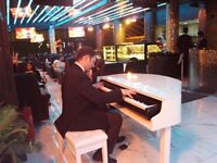 Pianist searching musicians for weddings & events