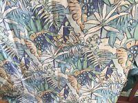 Curtains- blue mix