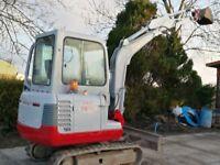 2.7 ton takeuchi mini digger