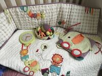 Beautiful Mamas and Papas bedding and accessories