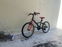 BTWIN bicycle 20 inches 10-12 yrs