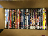 24 Jackie Chan DVDs + 1 VHS Tape