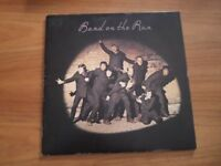 VINYL LP Wings - Band On The Run (1st Press + poster) 1973 Apple records, PAS 10007, 9 track album
