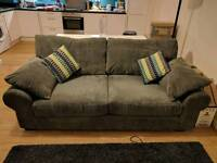 3 Seater Sofa and Cushions
