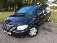 2006 06 CHRYSLER GRAND VOYAGER 2.8 LTD XS *DIESEL, 7 SEATER* AUTOMATIC M.P.V - FULL LEATHER INTERIOR