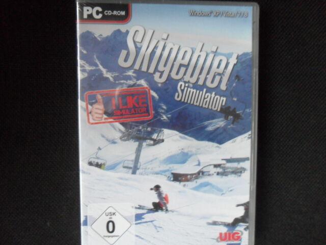 Skigebiet/Simulator ovp./PC