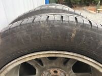 """Vauxhall Corsa D alloy wheels (16"""") with tyres"""