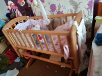 Crib from john lewis in very good condition