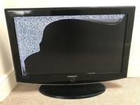 Samsung 32 inch LCD TV (broken screen)