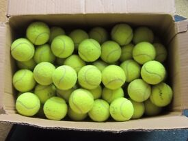 100 used tennis balls - great for dogs.