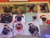 Pug Cushion Covers