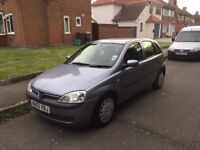 VAUXHALL CORSA 1.2/ LONG MOT / CHEAP INSURANCE AND ROAD TAX / GREAT DRIVE- £745