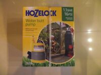 For Sale brand new and boxed (unopened) Hozelock Water Butt Pump (Submersible Pump) 45£