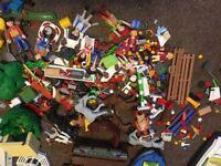 Huge playmobil bundle.