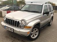 Jeep Cherokee 2.8 TD Limited Auto 4x4 5dr SUNROOF NAV HEATED SEAT