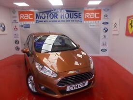 Ford Fiesta ZETEC(27000 MILES) FREE MOT'S AS LONG AS YOU OWN THE CAR!!! (yellow) 2014
