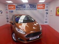 Ford Fiesta ZETEC(27000 MILES) FREE MOT'S AS LONG AS YOU OWN THE CAR!!! (yellow) 2014
