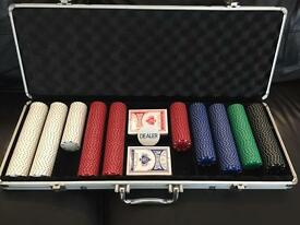 Poker set & carry case