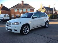 Bmw x5 35D xdrive m-sport 2010 FSH/9stamps 7seat/sat nav/glass roof £17350