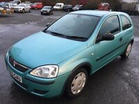 VAUXHALL CORSA 1.0 ** AUTOMATIC ** ONLY 30,000 MILES ** MOT ONE YEAR ** HISTORY **