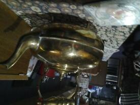 narrowboat brass kettle vgc £5
