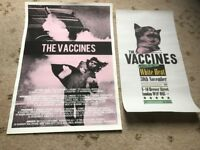 Vaccines early tour posters