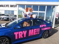 2016 Mitsubishi Lancer SE LTD AWC.. ONLY 75$ + TAX WEEKLY