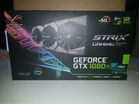 Asus GeForce GTX 1080Ti ROG Strix 11264MB GDDR5X [NOT USED/OPENED]