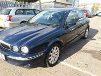 JAGUAR X TYPE V6 BLUE 4 DR SALOON AWD