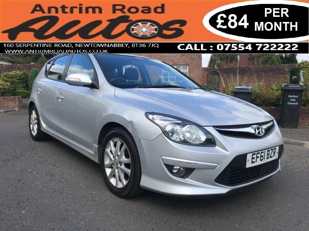 2011 HYUNDAI I30 COMFORT 1.4 ** SERVICE HISTORY ** FINANCE AVAILABLE WITH  NO DEPOSIT