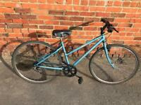 Ladies Raleigh Pioneer Hybrid Bike. Serviced, Good condition. Free Lock, Lights & Delivery.