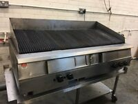 Falcon Dominator Plus (G31525) 5 Burner Radiant Chargrill 1.5m with Stand