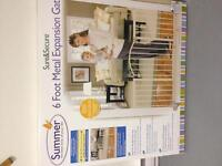 Summer 6 foot expansion baby gate