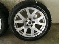 Range Rover Sport / Discovery 2.7 winter wheels with Avon snow & ice tyres